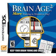Brain Age 2: More Training In Minutes A Day! For Nintendo DS DSi 3DS  - EE710838