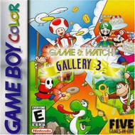 Game And Watch Gallery 3 On Gameboy Color Arcade - EE710920