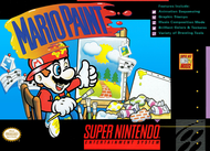 Mario Paint For Super Nintendo SNES Puzzle - EE710929