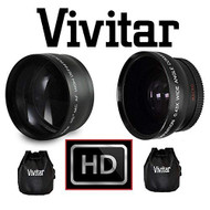 HD 2.2X Telephoto And Wide Angle Lens For Panasonic Lumix DMC-FZ1000 - EE710942