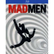 Mad Men: Season 4 Blu-Ray On Blu-Ray With Jon Hamm - EE711452