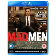 Mad Men Series 3 Blu-Ray Import Anglais On Blu-Ray With Jon Hamm - EE711458