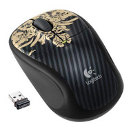 Logitech Wireless Mouse M305 Victorian Wallpaper 910-002459 Black Mini - EE711693