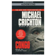 Congo By Michael Crichton And Judith Ivey Reader On Audio Cassette - EE711909
