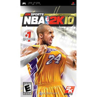NBA 2K10 Sony For PSP UMD Basketball With Manual and Case - EE711980
