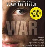 War By Sebastian Junger And Joshua Ferris Reader On Audiobook CD - EE712384