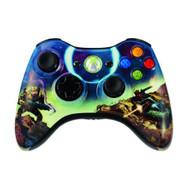 Microsoft OEM Xbox 360 Wireless Halo 3 Spartan Controller - ZZ712471