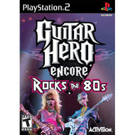 Guitar Hero Encore: Rocks The 80'S For PlayStation 2 PS2 Music - EE712567