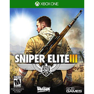 Sniper Elite III Standard Edition For Xbox One Shooter - EE712589