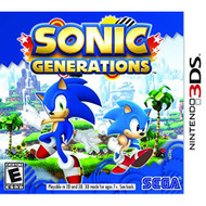 Sonic Generations Nintendo For 3DS With Manual and Case - EE712619