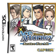 Phoenix Wright Ace Attorney: Justice For All For Nintendo DS DSi 3DS  - EE712621
