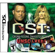 CSI: Unsolved For Nintendo DS DSi 3DS 2DS - EE713185