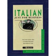 Berlitz Italian Just For Business Audio Cassettes On Audio Cassette - EE713224