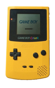 Game Boy Color Dandelion Yellow Handheld CGB-001 cgb-001 - EE713231