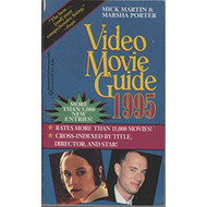 Video Movie Guide 1995 By Marsha Porter And Mick Martin Book Paperback - EE713415