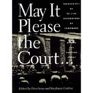 May It Please The Court By Peter H Irons Editor And Stephanie Guitton - EE713809