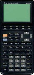 Texas Instruments TI-85 Advanced Graphing Scientific Calculator - EE713886
