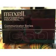 Maxell Communicator Series C60 Cassette Tape On Audio Cassette - EE713897