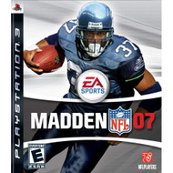 Madden NFL 07 For PlayStation 3 PS3 Football - EE713926