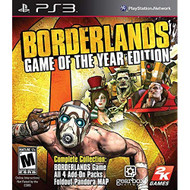 Borderlands: Game Of The Year Edition For PlayStation 3 PS3 Shooter - EE713931
