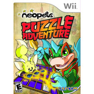 Neopets Puzzle Adventure For Wii With Manual and Case - EE714064