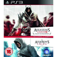 Assassin's Creed 1 And 2 Ubisoft Double Pack PS3 PlayStation 3 - ZZ714225