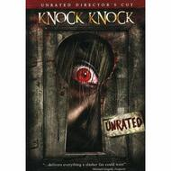 Knock Knock Unrated Director's Cut On DVD With Nicole Abisinio Horror - EE714385