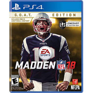 Madden NFL 18 Goat Edition PlayStation 4 For Xbox 360 Football - EE714645