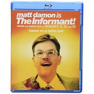 The Informant! Blu-Ray On Blu-Ray With Matt Damon Comedy - EE714724