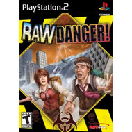 Raw Danger For PlayStation 2 PS2 With Manual And Case  - EE714752