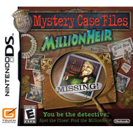 Mystery Case Files: Millionheir For Nintendo DS DSi 3DS 2DS Trivia - EE714857