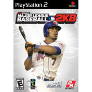 Major League Baseball 2K8 For PlayStation 2 PS2 With Manual and Case - EE714980