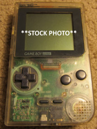 Game Boy Pocket Clear Portable System - EE607681