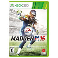 Madden NFL 15 For Xbox 360 Football With Manual and Case - EE566886