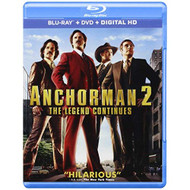 Anchorman 2: The Legend Continues Blu-Ray DVD Digital HD On Blu-Ray - EE715028