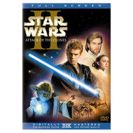 Star Wars Episode II: Attack Of The Clones Full Screen Edition On DVD - EE715048