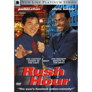Rush Hour New Line Platinum Series On DVD With Jackie Chan Comedy - EE715171