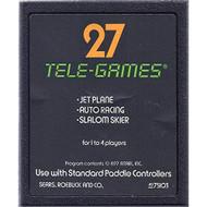 27 Tele-Games Including Jet Plane-Auto Racing-Slalom Skier For Atari - EE715212