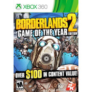 Borderlands 2: Game Of The Year Edition For Xbox 360 Shooter - EE543059