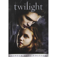 Twilight Single-Disc Edition On DVD With Kristen Stewart Drama - EE715283