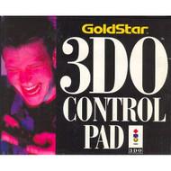 Goldstar Control Pad For 3DO Vintage Gamepad Black ZQK528 - EE715306