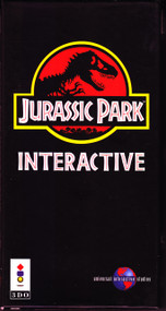 Jurassic Park Interactive 3DO For 3DO Vintage - EE715694