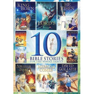 10-BIBLE Stories On DVD Anime - EE715758