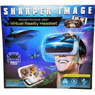 Sharper Image Smartphone 360 Virtual Reality Headset With Audio Jack  - EE715858