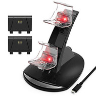 Xbox One/one S Controller Charger Dual Docking Charging Station Stand - EE715881