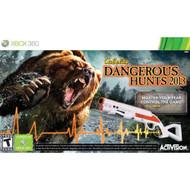 Cabela's Dangerous Hunts 2013 With Gun For Xbox 360 Shooter - EE715897