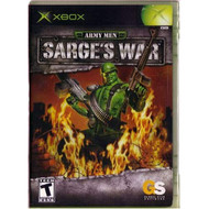 Army Men: Sarge's War For Xbox Original With Manual and Case - EE614412