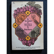 An Invitation To Wines By John Storm Book Paperback - D569505