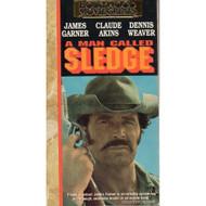 A Man Called Sledge On VHS With James Garner - D610009