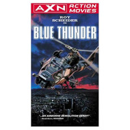 Blue Thunder On VHS With Roy Scheider - D610095